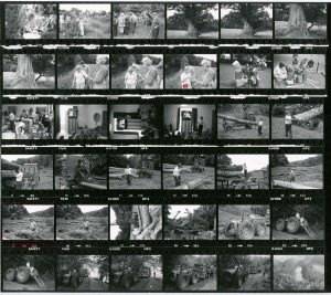Contact Sheet 962 by James Ravilious