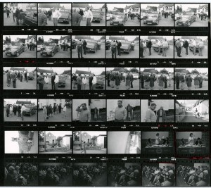 Contact Sheet 967 by James Ravilious