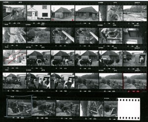 Contact Sheet 968 by James Ravilious