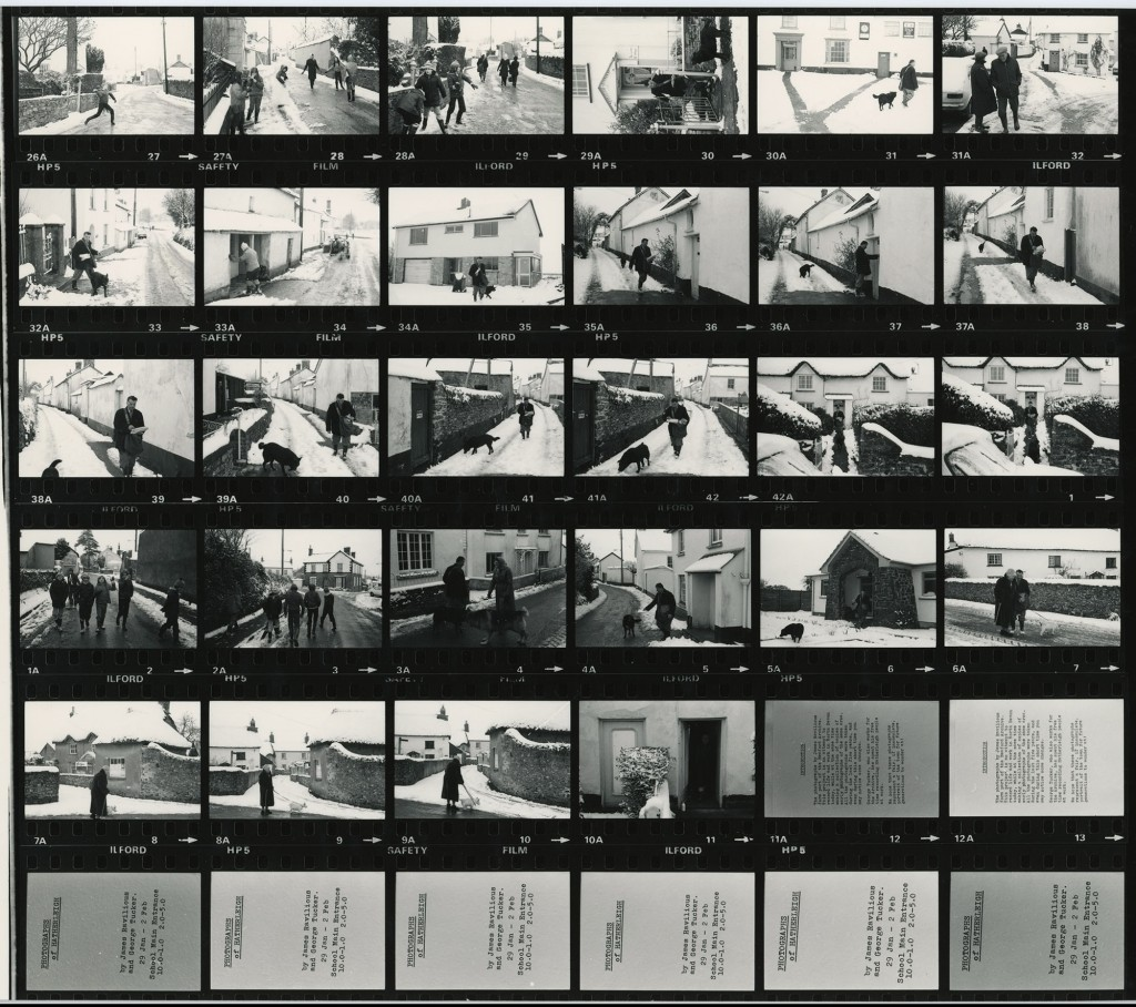 Contact Sheet 1021 by James Ravilious