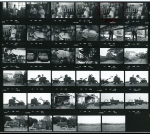 Contact Sheet 1088 by James Ravilious