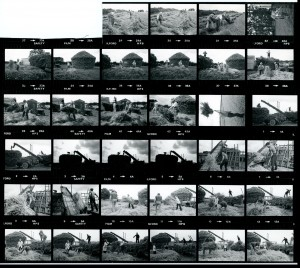 Contact Sheet 1106 by James Ravilious