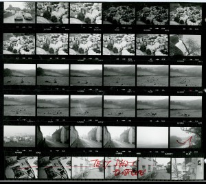 Contact Sheet 1158 by James Ravilious