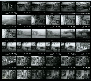 Contact Sheet 1183 by James Ravilious