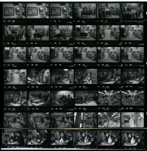 Contact Sheet 1184 by James Ravilious