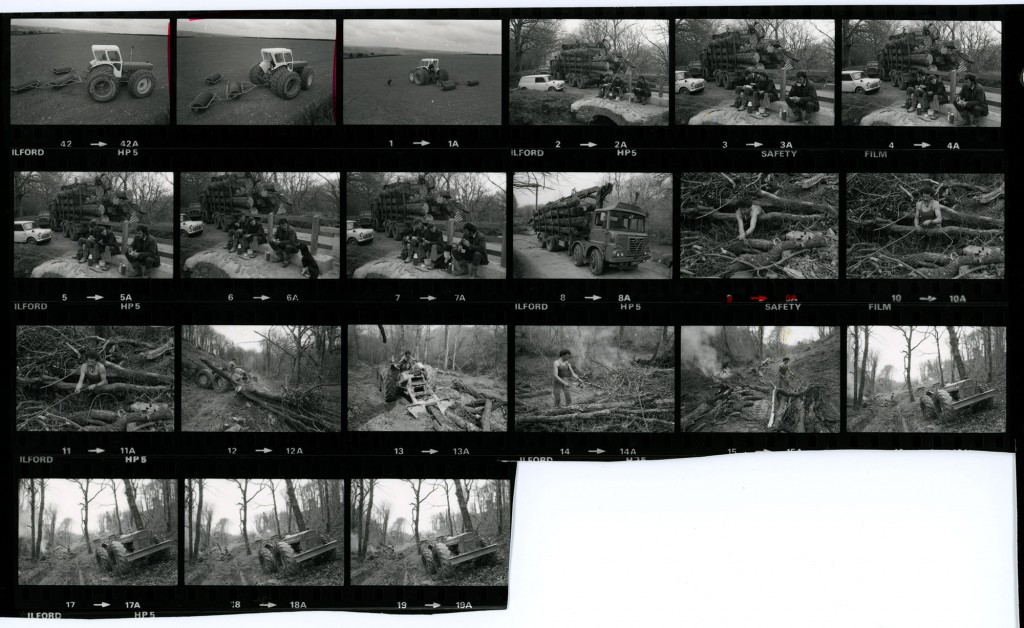 Contact Sheet 1189 Parts 1 and 2 by James Ravilious