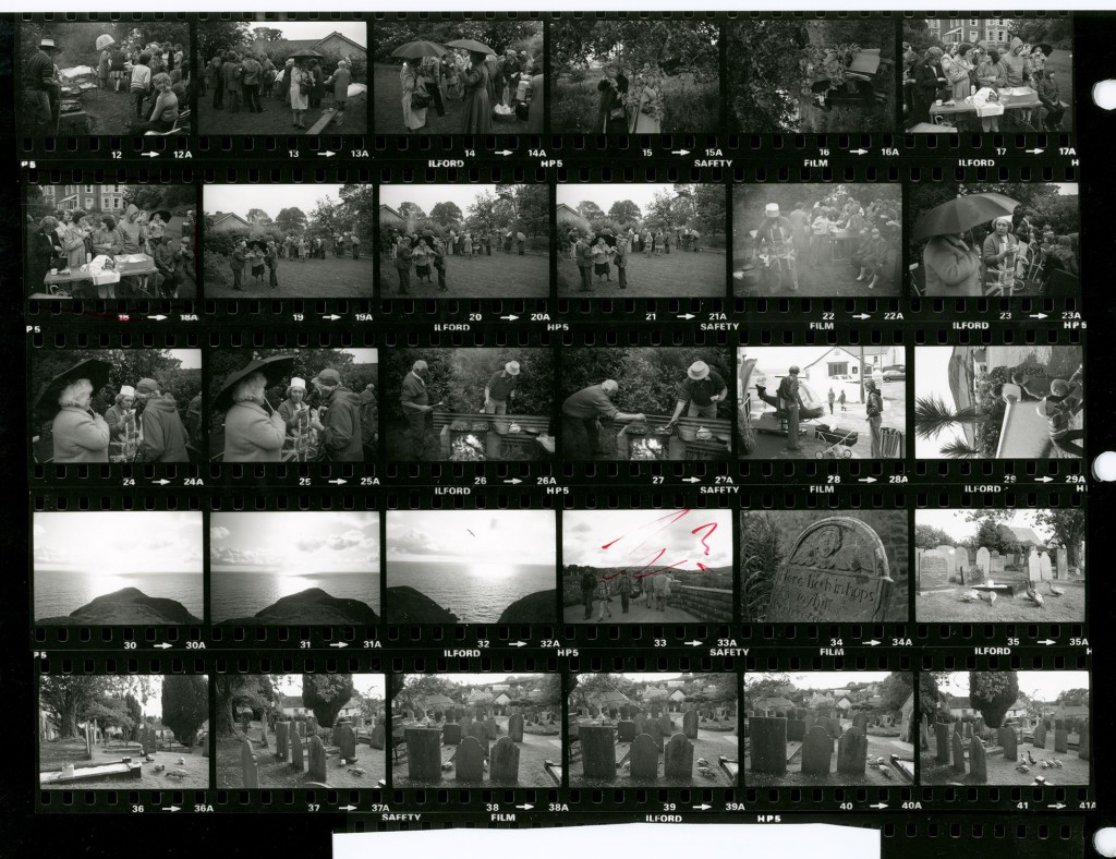 Contact Sheet 1245 by James Ravilious