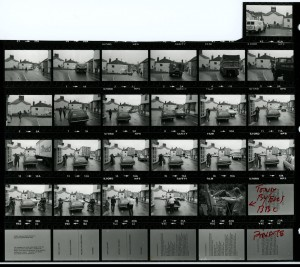 Contact Sheet 1263 by James Ravilious