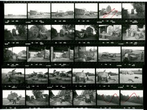 Contact Sheet 1266 by James Ravilious