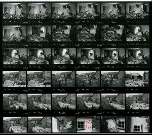 Contact Sheet 1344 by James Ravilious