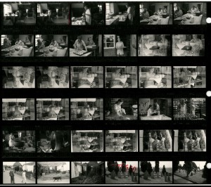 Contact Sheet 1382 by James Ravilious