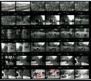 Contact Sheet 1387 by James Ravilious