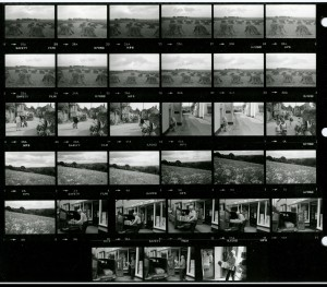 Contact Sheet 1422 by James Ravilious
