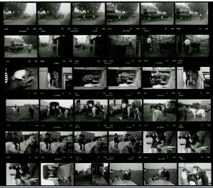Contact Sheet 1424 by James Ravilious