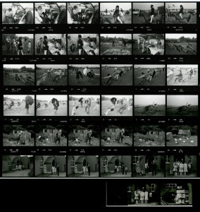 Contact Sheet 1425 Parts 1 and 2 by James Ravilious