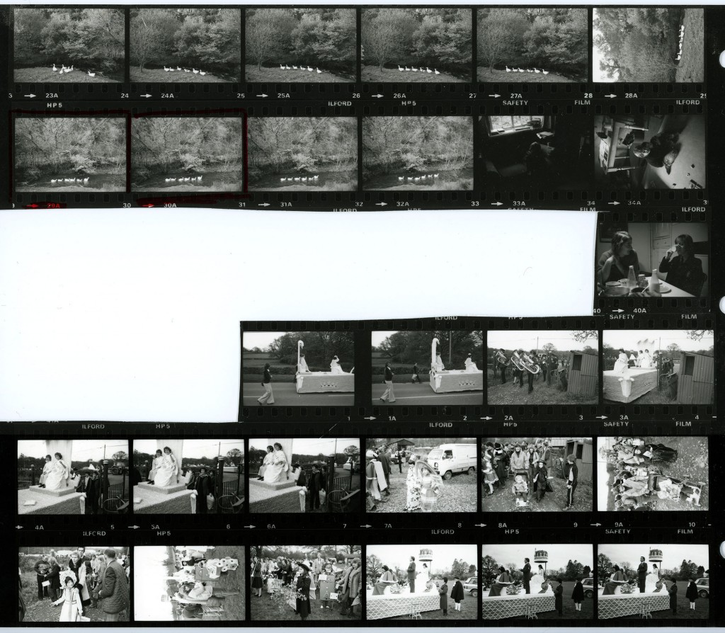 Contact Sheet 1446 by James Ravilious