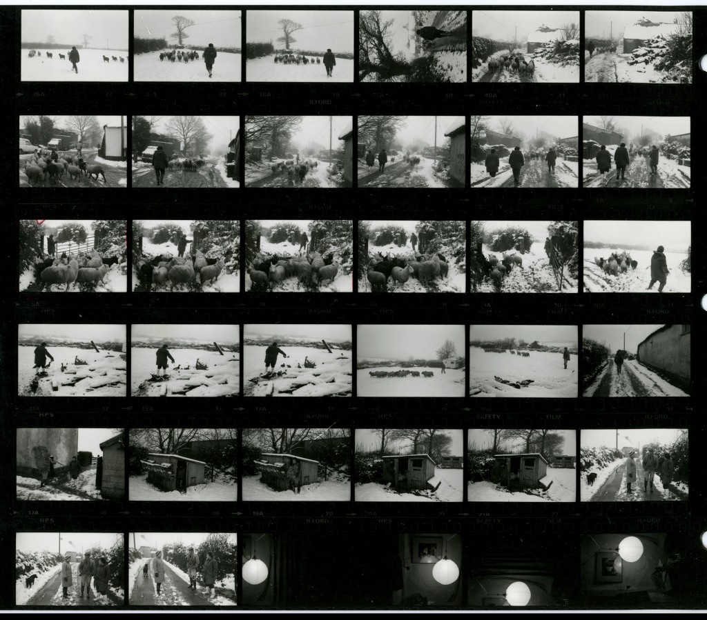 Contact Sheet 1458 by James Ravilious