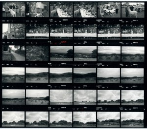 Contact Sheet 1554 by James Ravilious