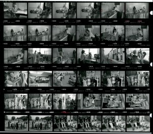 Contact Sheet 1672 by James Ravilious