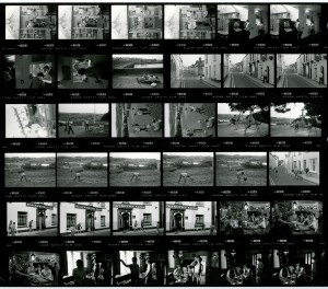 Contact Sheet 1673 by James Ravilious