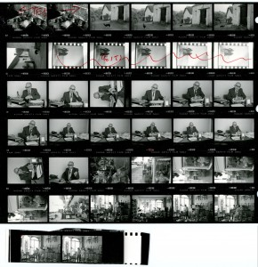 Contact Sheet 1674 Parts 1 and 2 by James Ravilious