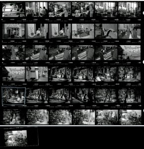 Contact Sheet 1675 Parts 1 and 2 by James Ravilious