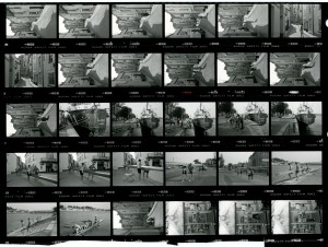 Contact Sheet 1677 by James Ravilious