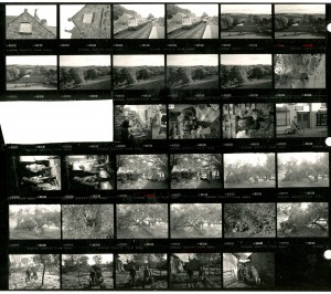 Contact Sheet 1765 by James Ravilious