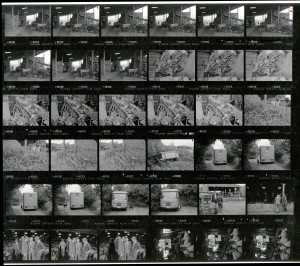 Contact Sheet 1851 by James Ravilious