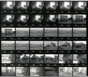 Contact Sheet 1862 by James Ravilious