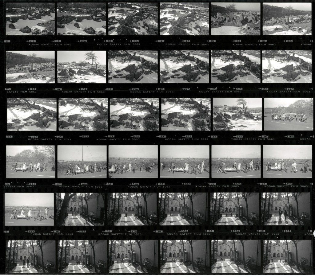 Contact Sheet 1908 by James Ravilious