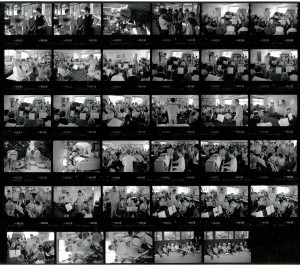 Contact Sheet 1927 by James Ravilious