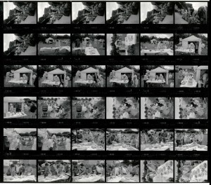 Contact Sheet 1933 by James Ravilious