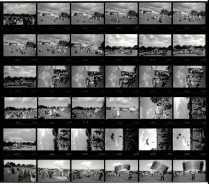 Contact Sheet 1934 by James Ravilious