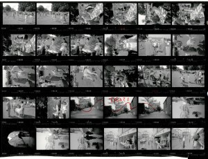 Contact Sheet 1942 by James Ravilious