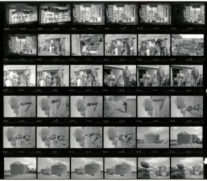 Contact Sheet 1953 by James Ravilious