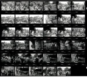 Contact Sheet 2013 by James Ravilious