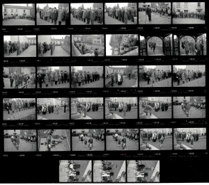 Contact Sheet 2043 by James Ravilious