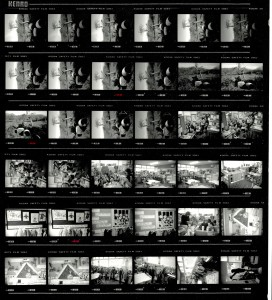 Contact Sheet 2183 by James Ravilious