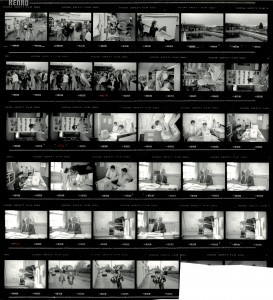 Contact Sheet 2191 by James Ravilious