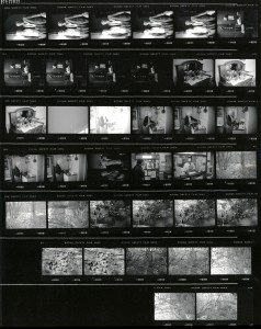 Contact Sheet 2289 by James Ravilious
