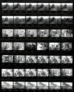 Contact Sheet 2291 by James Ravilious