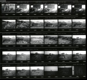 Contact Sheet 2294 by James Ravilious