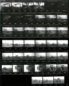 Contact Sheet 2295 by James Ravilious