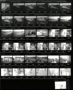 Contact Sheet 2296 by James Ravilious