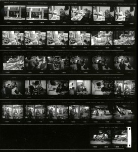 Contact Sheet 2298 by James Ravilious