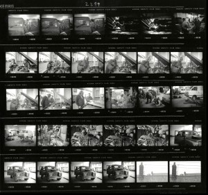 Contact Sheet 2299 by James Ravilious