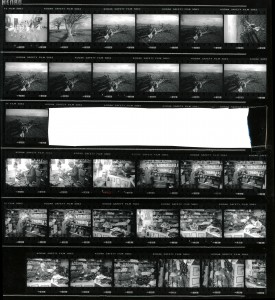 Contact Sheet 2300 by James Ravilious
