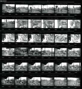 Contact Sheet 2301 by James Ravilious
