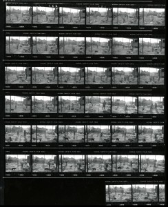 Contact Sheet 2302 by James Ravilious